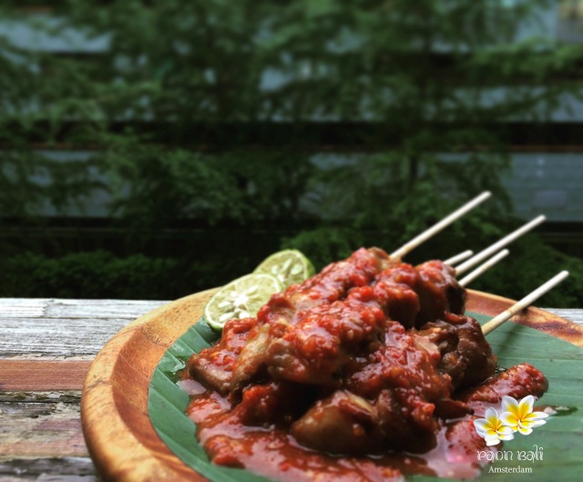 Sate Ayam Plecing
